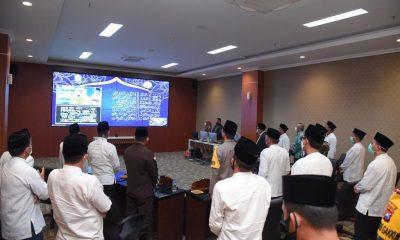 Pringati Maulid Nabi Secara Virtual Bersama Gubernur Jatim,  Forkopimda Lamongan Hadir