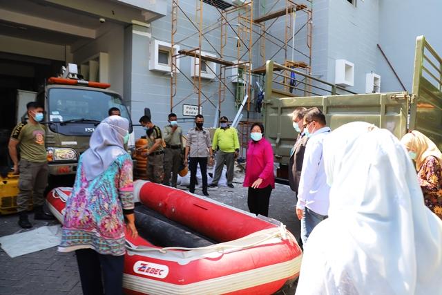 Siapkan Mitigasi Bencana, Pemkot Surabaya Siaga di Wilayah Rawan Genangan Aliran Sungai