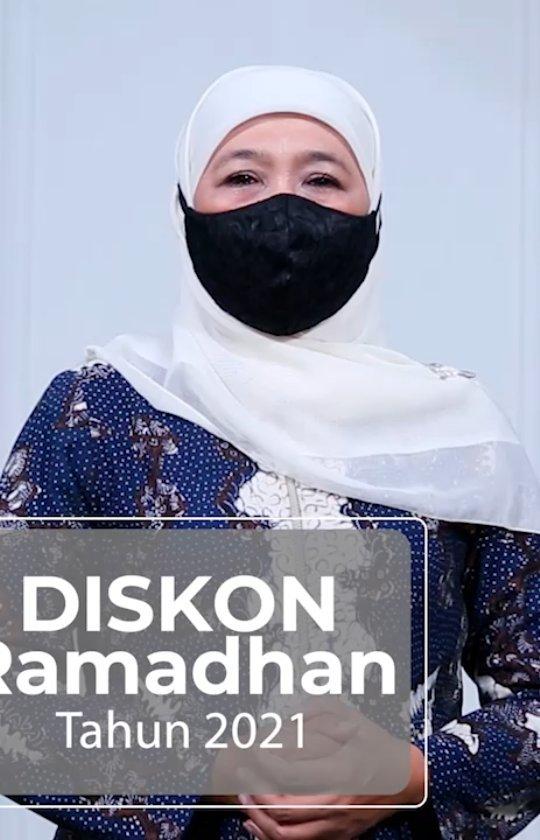DISKON RAMADHAN 2021 Salah satu kebijakan Gubernur Jawa Timur sebagai penguatan ekonomi  serta st…
