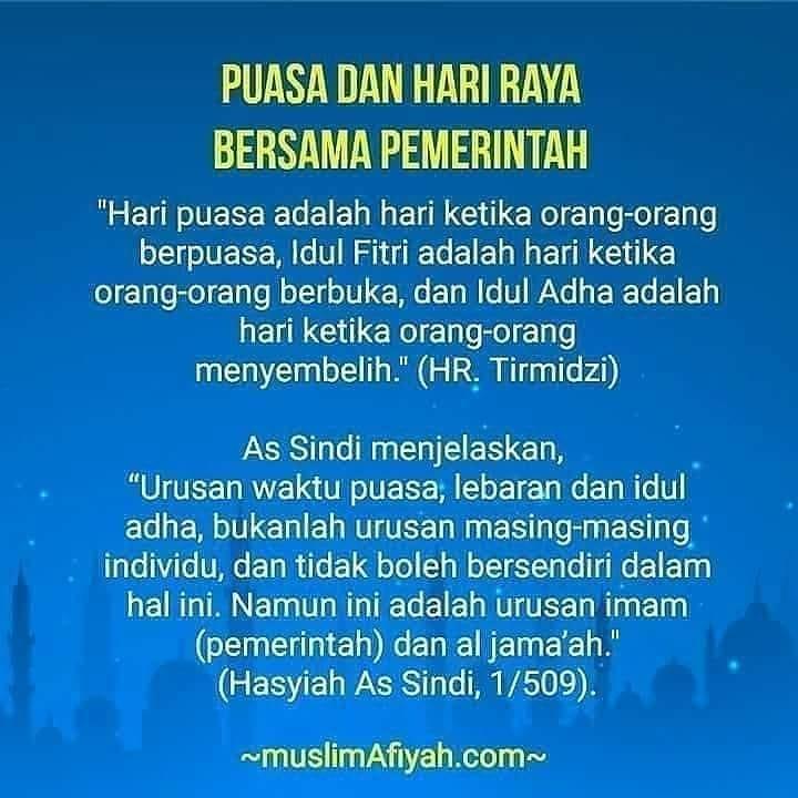 Info sehat, # Ramadhan serta Shalat Idul Fitri Bersama Pemerintah, Lebih Menyatukan Hati Kaum Muslimin  [Rubr…