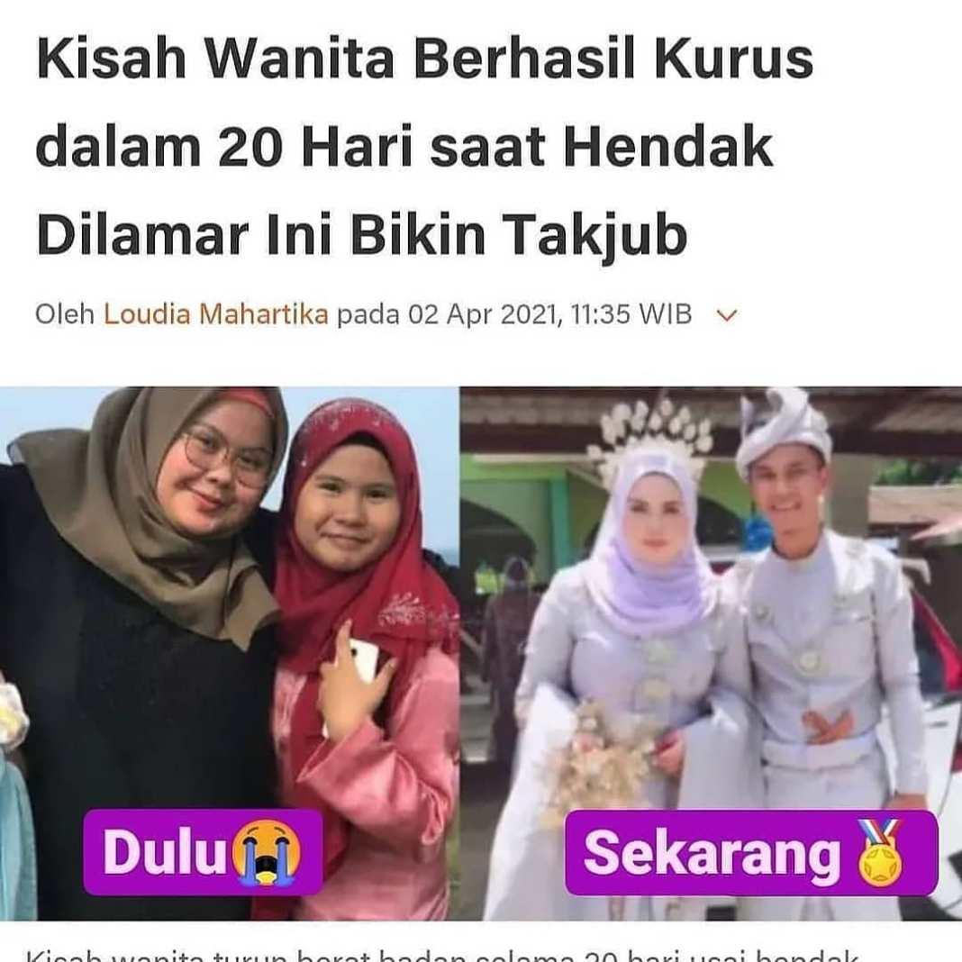 Info sehat, Dilansir dari mStar oleh Liputan6.com, Jumat (2/4/2021) seorang wanita bernama Syuahda Norzi me…