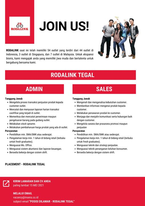 Come and Join With POLYGON GROUP RODALINK PONDOK INDAH