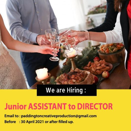 Kami membuka rekrutmen untuk posisi Junior Assistant to Director