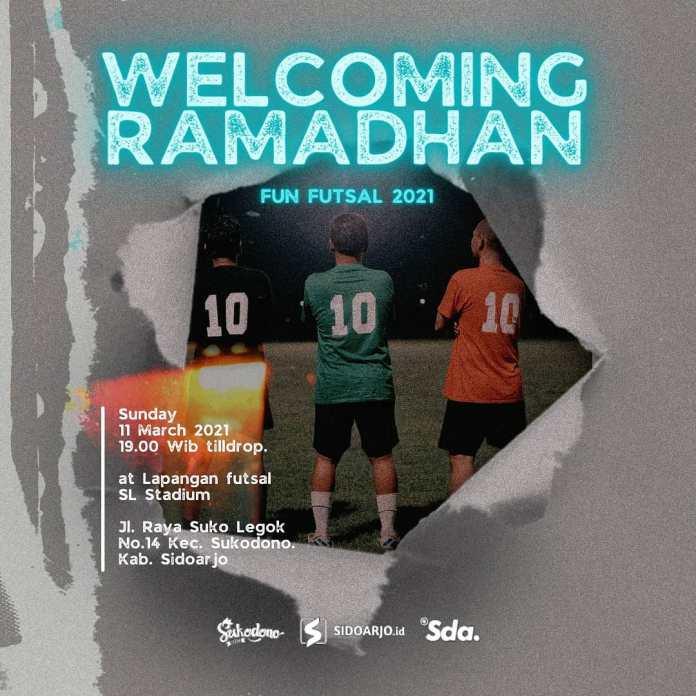 Today Welcoming Ramadhan fun futsal 2021 at @slstadium Sunday 11