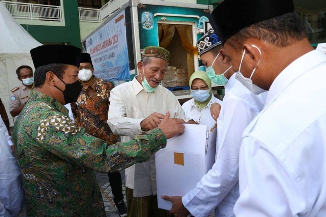 Menteri KKP Lakukan Safari Gemarikan ke Ponpes Bumi Shalawat Lebo, Gus Muhdlor Mohon Beberapa H…