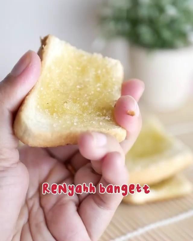Info kuliner, Ide kue lebaran yang simpel nih, dapat juga untuk ide roti yang udah mau kadaluarsa nih biar ga k…