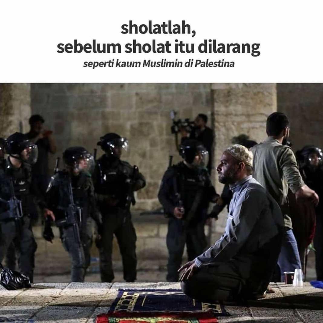 Info sehat, Sholatlah, sebelum sholat itu dilarang seperti kaum Muslimin di Masjid al Aqsa. ㅤ Masih dalam r…