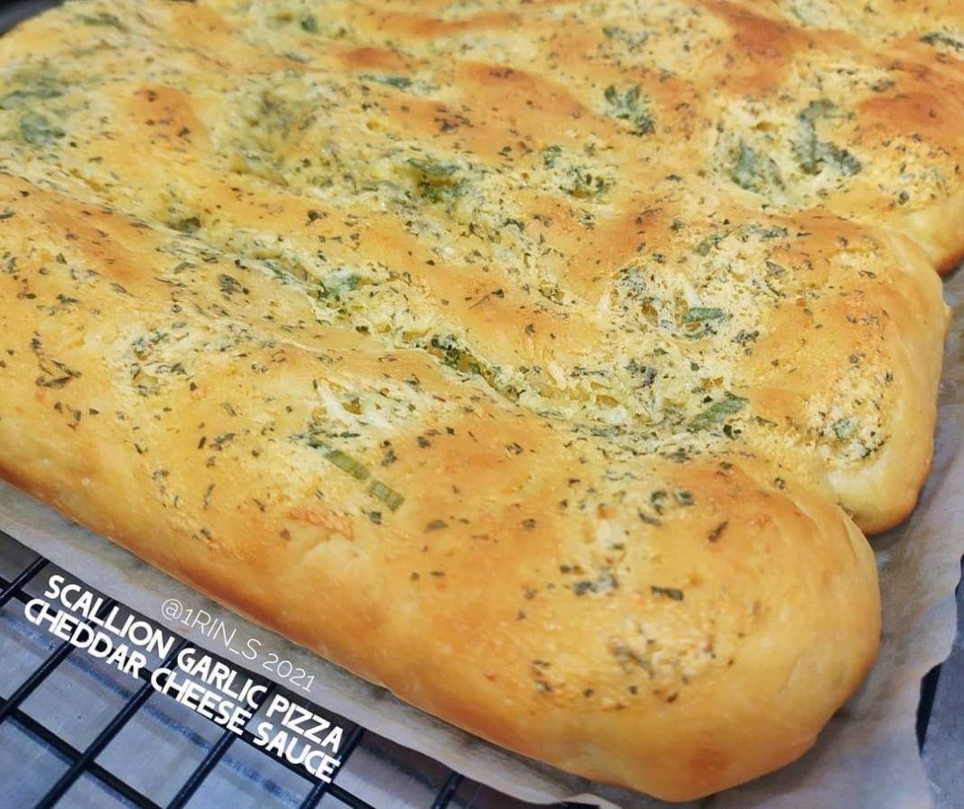 Info kuliner, Pizza Bread untuk rori sendri lebih yummy nih PIZZA BREAD Resep: @1rin_s (Ukuran loyang 25x30cm)…