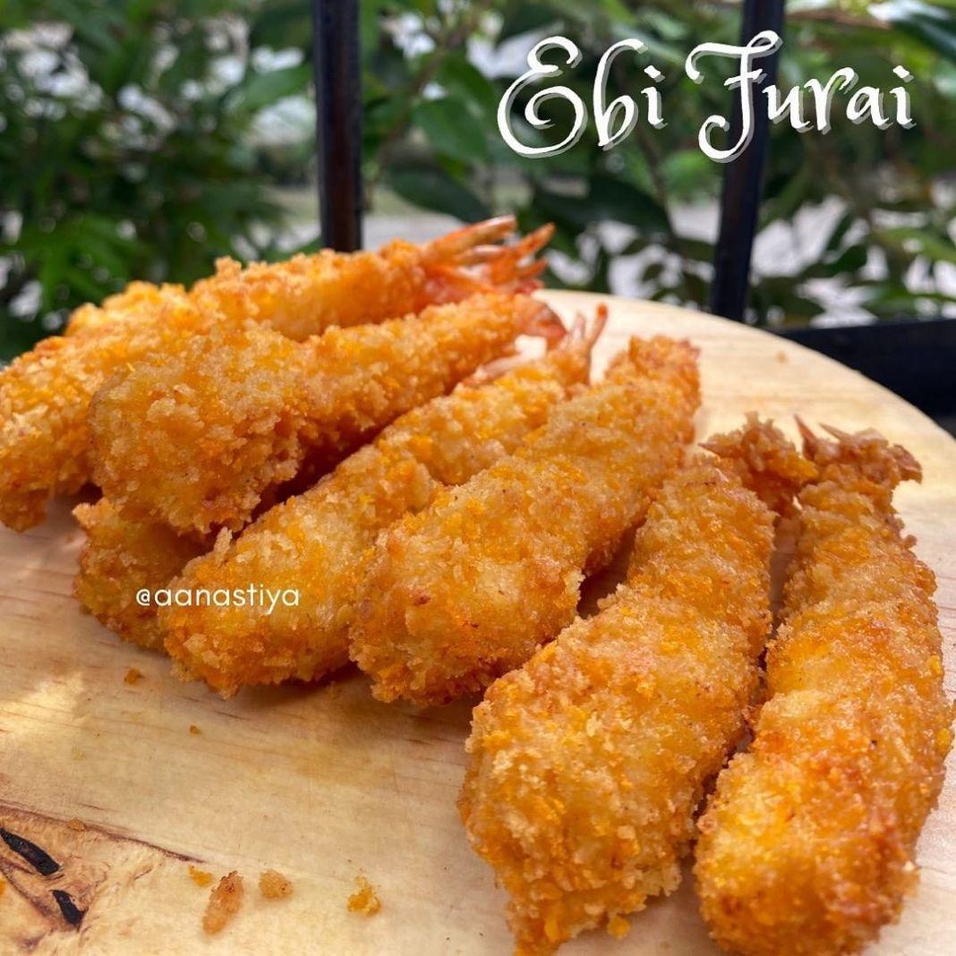 Info kuliner, Ebi Furai Bikin udang goreng ala-ala restoran jepang yuu  Bahan: 250g Udang Terigu serbaguna Te…