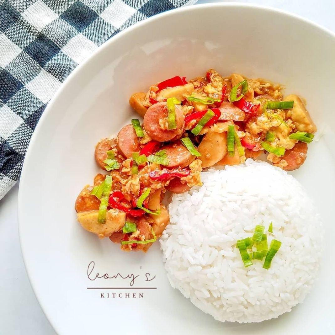 Info kuliner, Nasi gila Simpel serta mudah resep ni  Bahan Bawang putih Bawang bombay cabe telur bakso sosis mi…