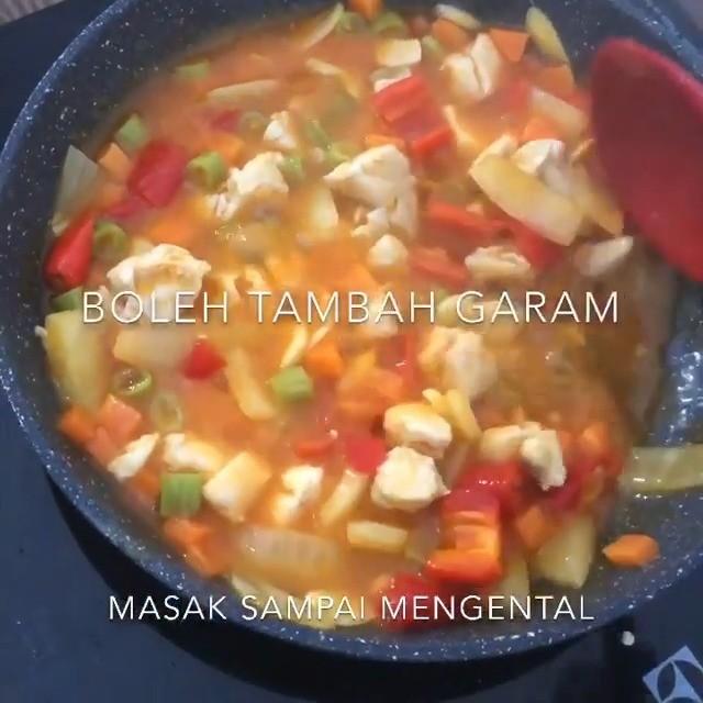 Info kuliner, Telur Bistik Kreasi menu telur yang enak banget  Saus Sayurnya : Wortel Buncis (Sayurnya bebas …