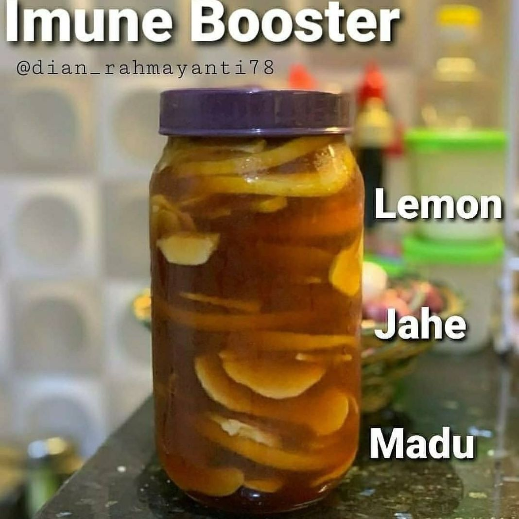 Info sehat, Bismillah… Masya Allah manfaatnya luar biasa rendaman madu, jahe serta lemon #infusedhoney  R…