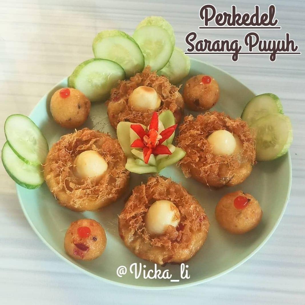 Info kuliner, bikin yang gampang aja yuk, biar si kecil gak bosen juga   – Perkedel Sarang Puyuh – (1 adonan …