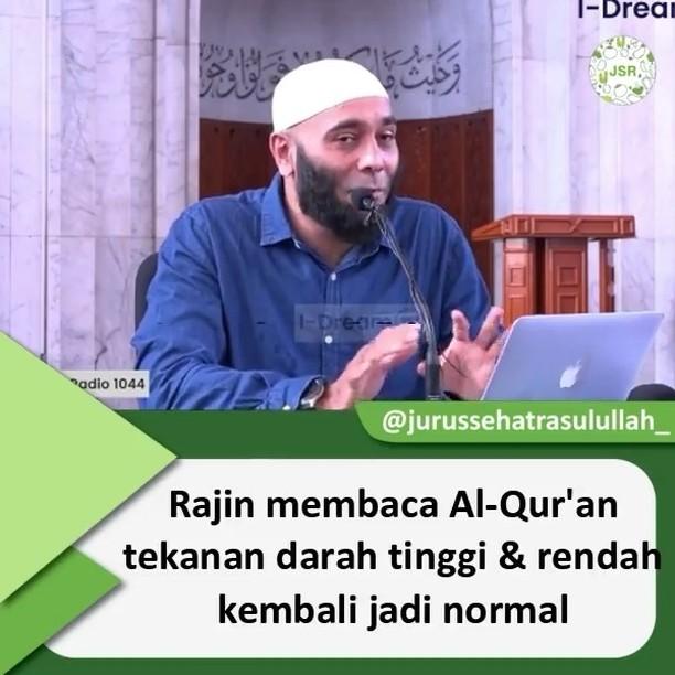 Info sehat, MasyaAllah… sungguh nyata mukjizat Al-Qur'an   Like yg love Al-Qur'an . . . Support ter…