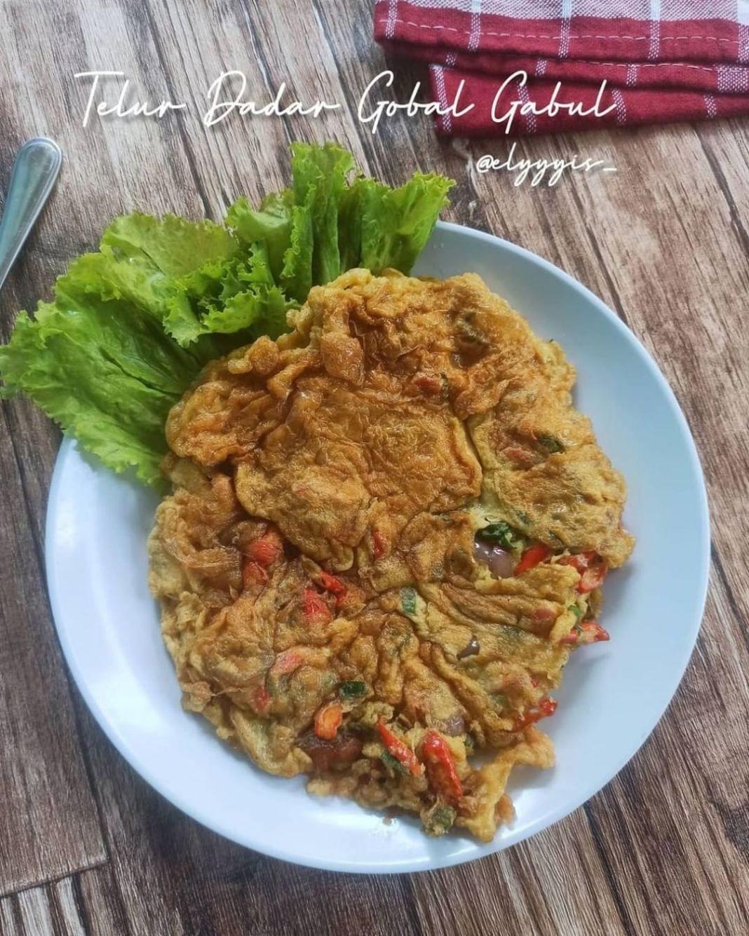 Info kuliner, sedep nih dimakan pake nasi angettt Kayak gini doang tapi ngabis ngabisin nasi loh.. ga percaya…