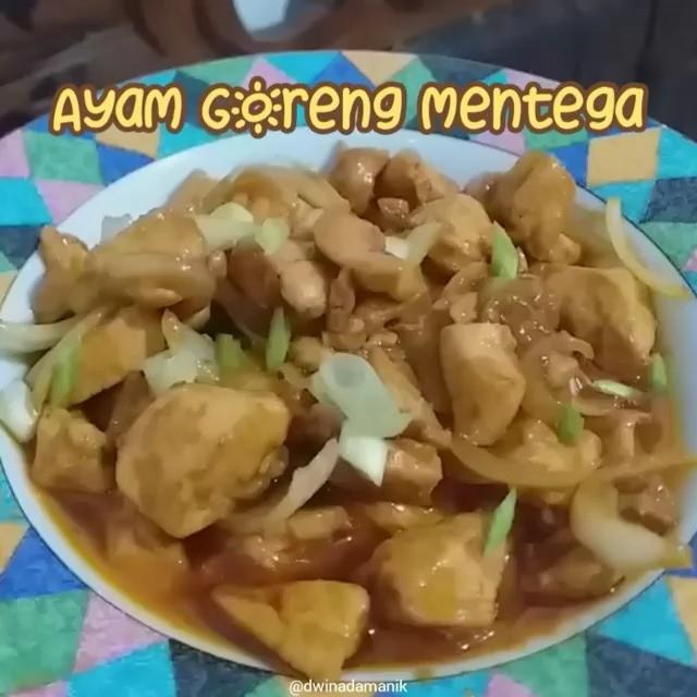 Info kuliner, AYAM GORENG MENTEGA Makan enak ga pake ribet, checkkk!! untuk takarannya sesuai selera aja yaa …
