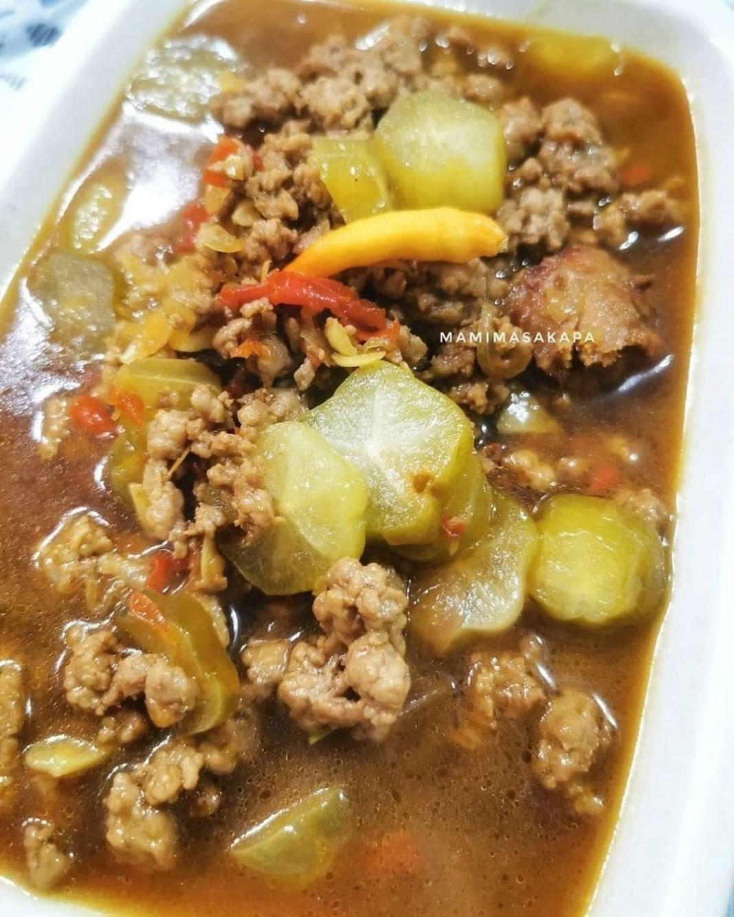 Info kuliner, DAGING BELIMBING WULUH By :@mamimasakapa  Bahan : 1/4 daging cincang 4 bh belimbing wuluh Cabe…