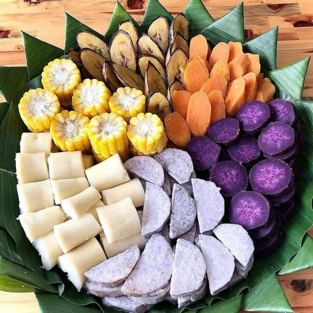 Info sehat, Ngemil sehat Healthy food Rebusan/kukusan tampah dengan aneka ubi, singkong, jagung serta pisan…