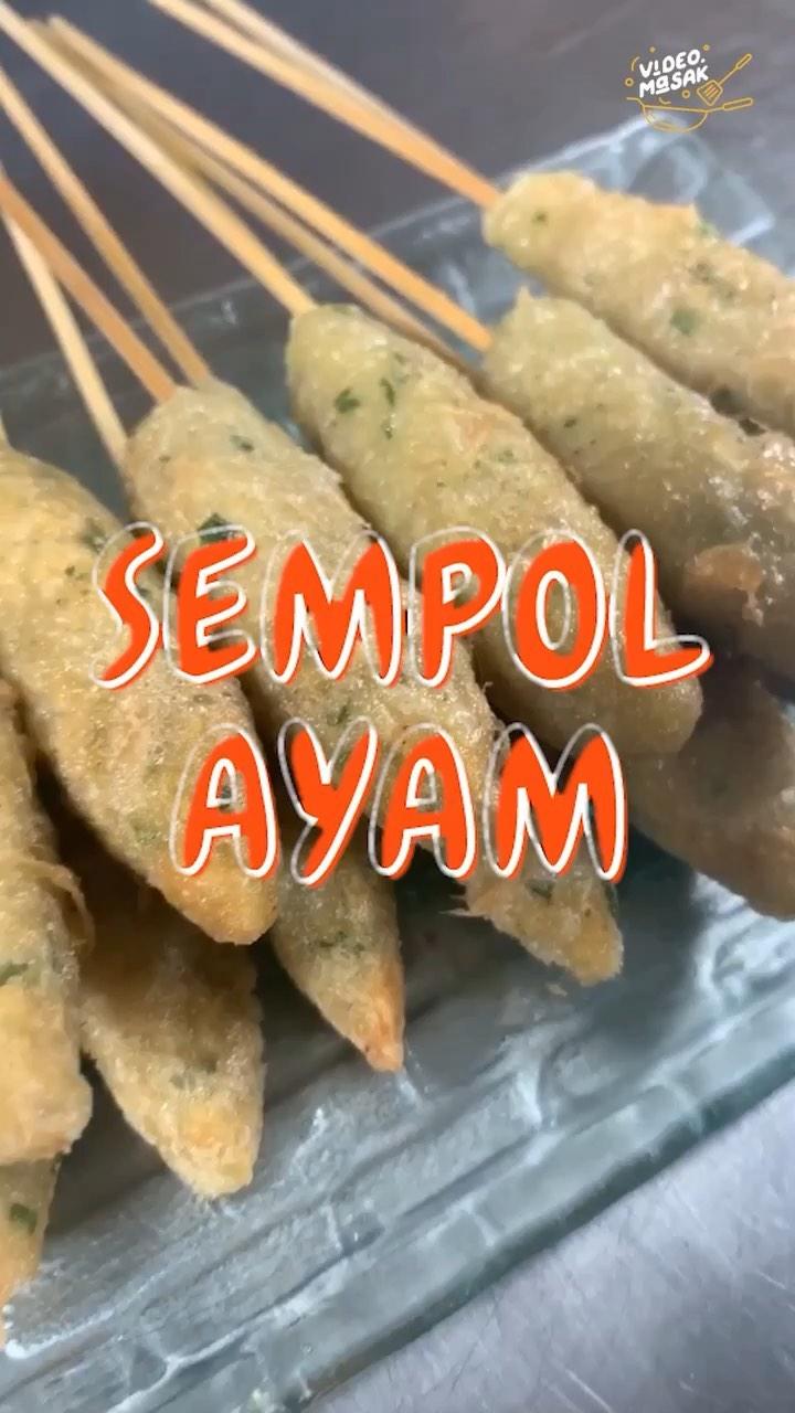 Info kuliner, Sempol Ayam  Siapa yang suka banget jajan sempol ayam? dari pada beli mending kita untuk aja yuk…
