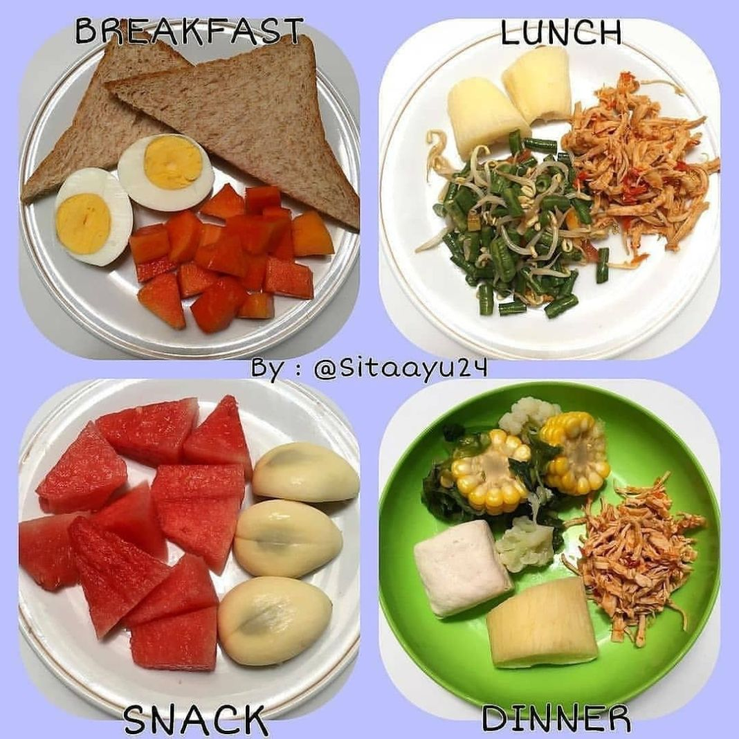 Info sehat, Meal plan nih bund utk hari ini. Menunya sederhana aja ya tpi dijamin enak banget. disebabkan kesed…