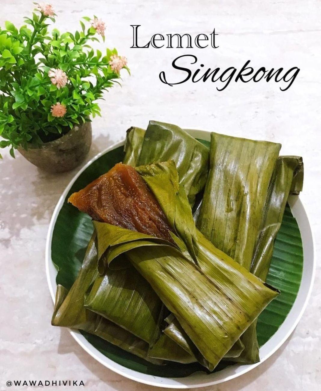 Info kuliner, selamat pagiiii momsss happy weekend  LEMET SINGKONG By : @wawadhivika   -Bahan .singkong  .gul…