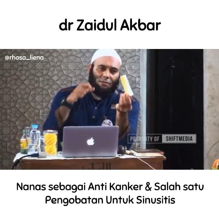 Info sehat, Bismillah…. . SINUSITIS . 1 buah bonggol Nanas 1 kaps Habatussauda bubuk Segelas Air ( 4…