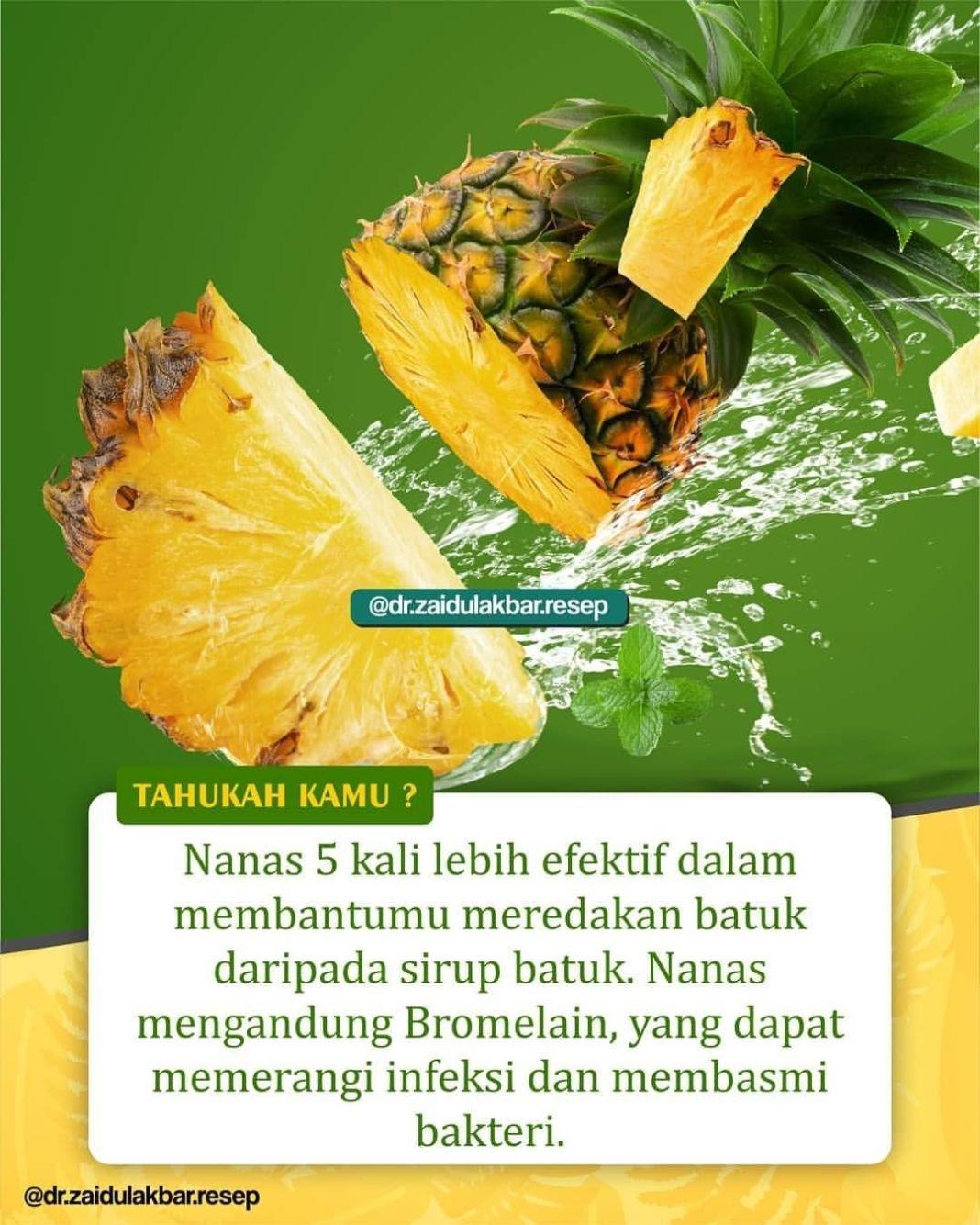Info sehat, Membuat jus nanas sendiri jauh lebih baik daripada jus kemasan yang dijual di toko atau swalaya…