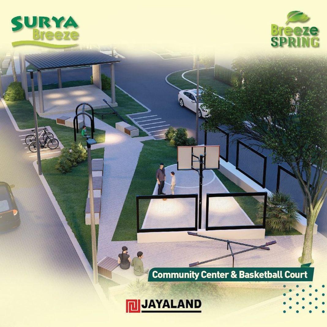 FASILITAS BREEZE SPRING Cluster terbaru dari Distrik Surya Breeze persembahan dari PT. Jayaland…
