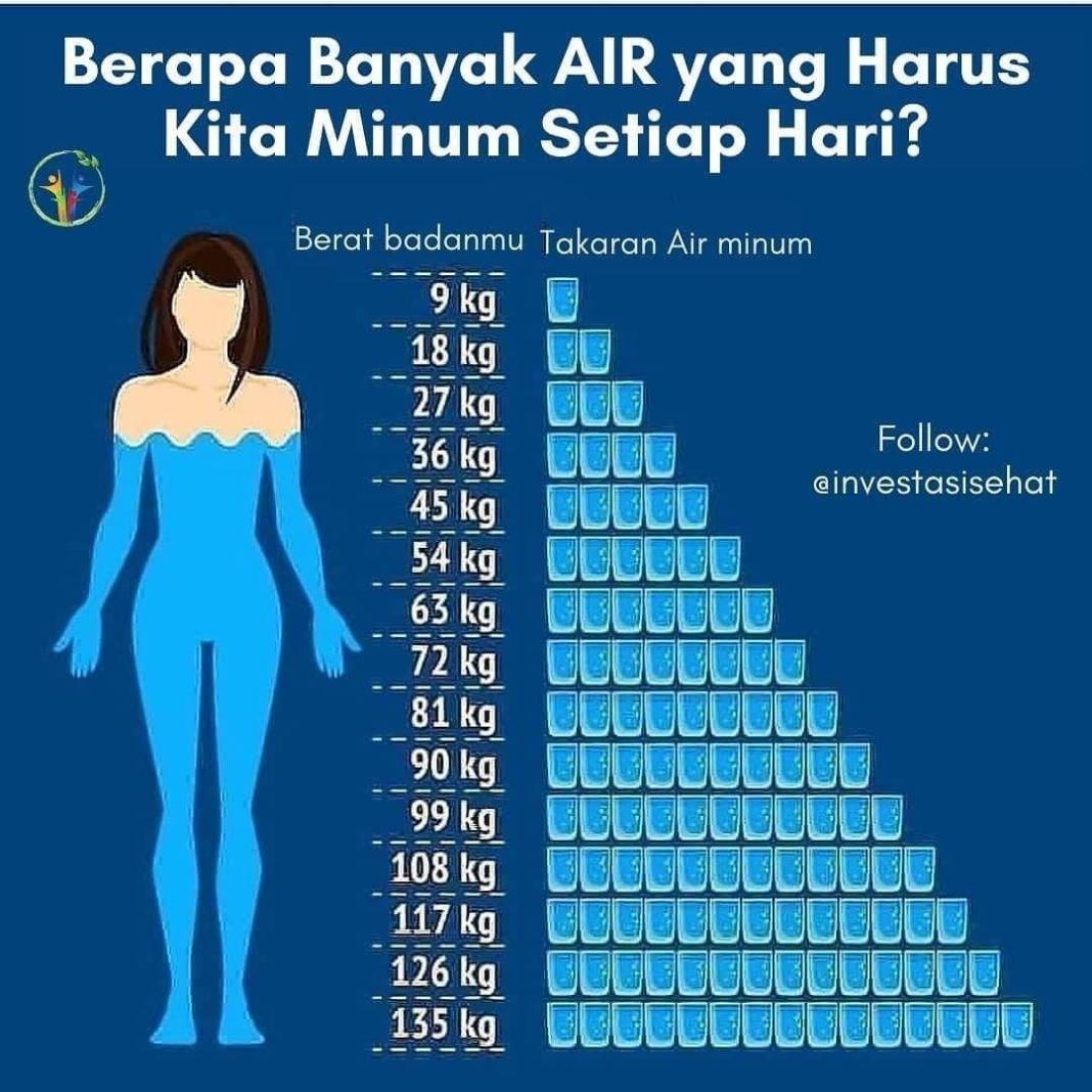 Info sehat, Memenuhi kebutuhan cairan tubuh setiap hari sangatlah penting. Pasalnya, kekurangan cairan dapat…