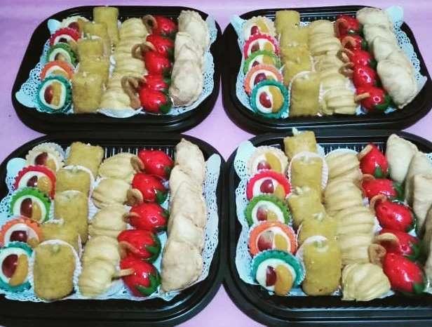 Kue nampan mini #kuenampansidoarjo #kueminisurabaya #kulinersurabayaenak #kuemin…