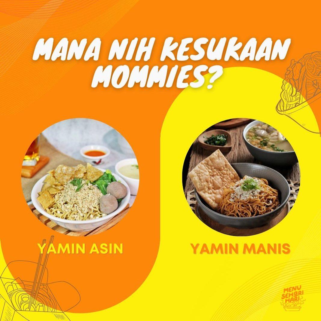 Info kuliner, Mommies kubu yamin asin atau yamin manis nih? tapi jangan pada berantem ya moms!!   cr : @yamie…