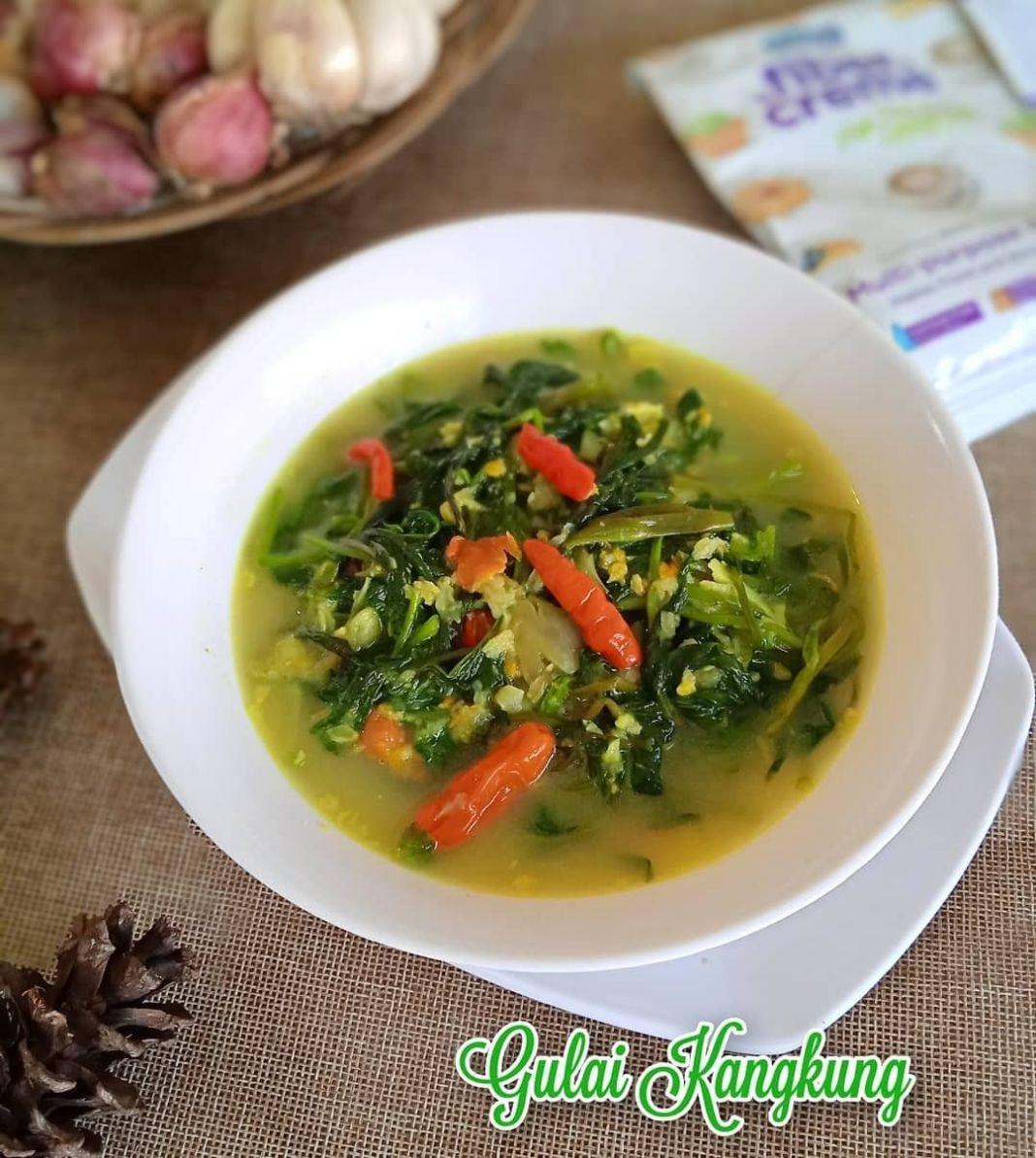 Info kuliner, Gulai tapi kankungg. cobain yuuk!  – Gulai Kangkung – Recipe : @dhilasina Modifed : @winda.arse…