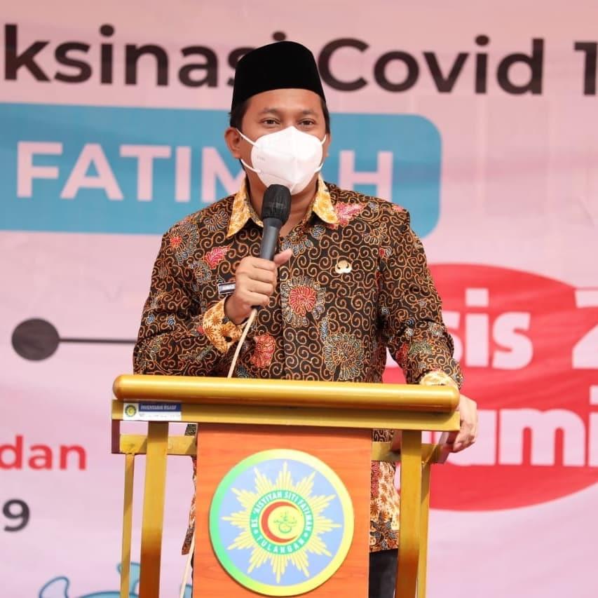 Kolaborasi percepatan vaksinasi antara Pemkab Sidoarjo dengan Pimpinan Daerah Aisyiyah diikuti …