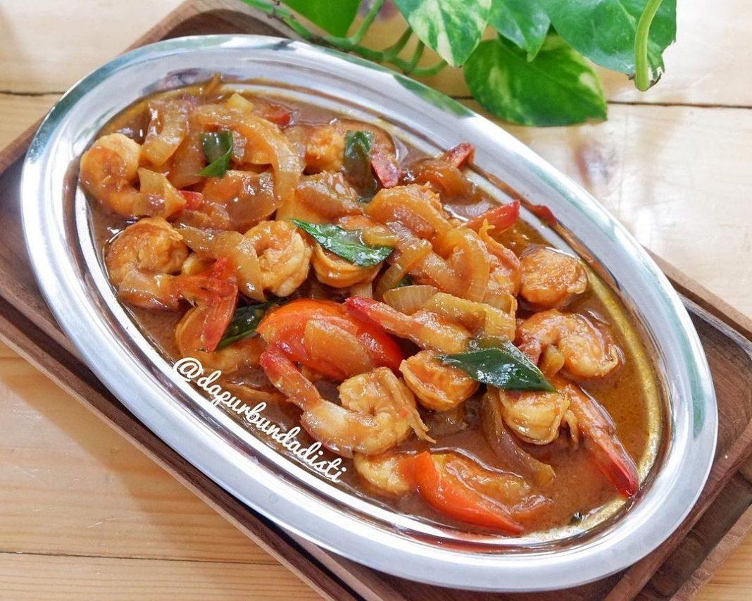 Info kuliner, SELAMAT PAGI MOMSSSS!!! mau masak apa hari iniii? kalo lagi kepeengen udang, nih Saya kasih rese…