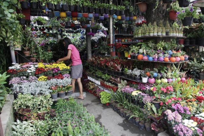 Jalan Kayoon, Dulu Taman Kota Kini Jadi Pasar Bunga di Surabaya