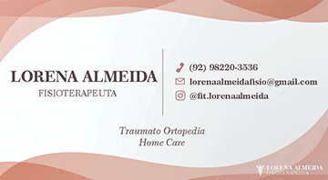 Lorena Almeida Fisioterapeuta