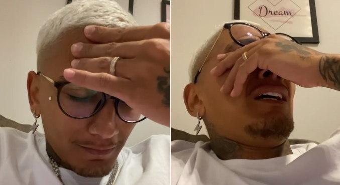 Fora do 'Power Couple', Dynho Alves chora ao falar de MC Kevin