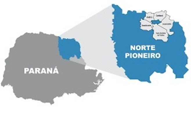 Norte Pioneiro está entre os últimos em participação no PIB estadual
