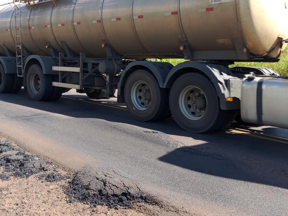 Falta de manutenção aumenta risco de acidentes nas rodovias da região
