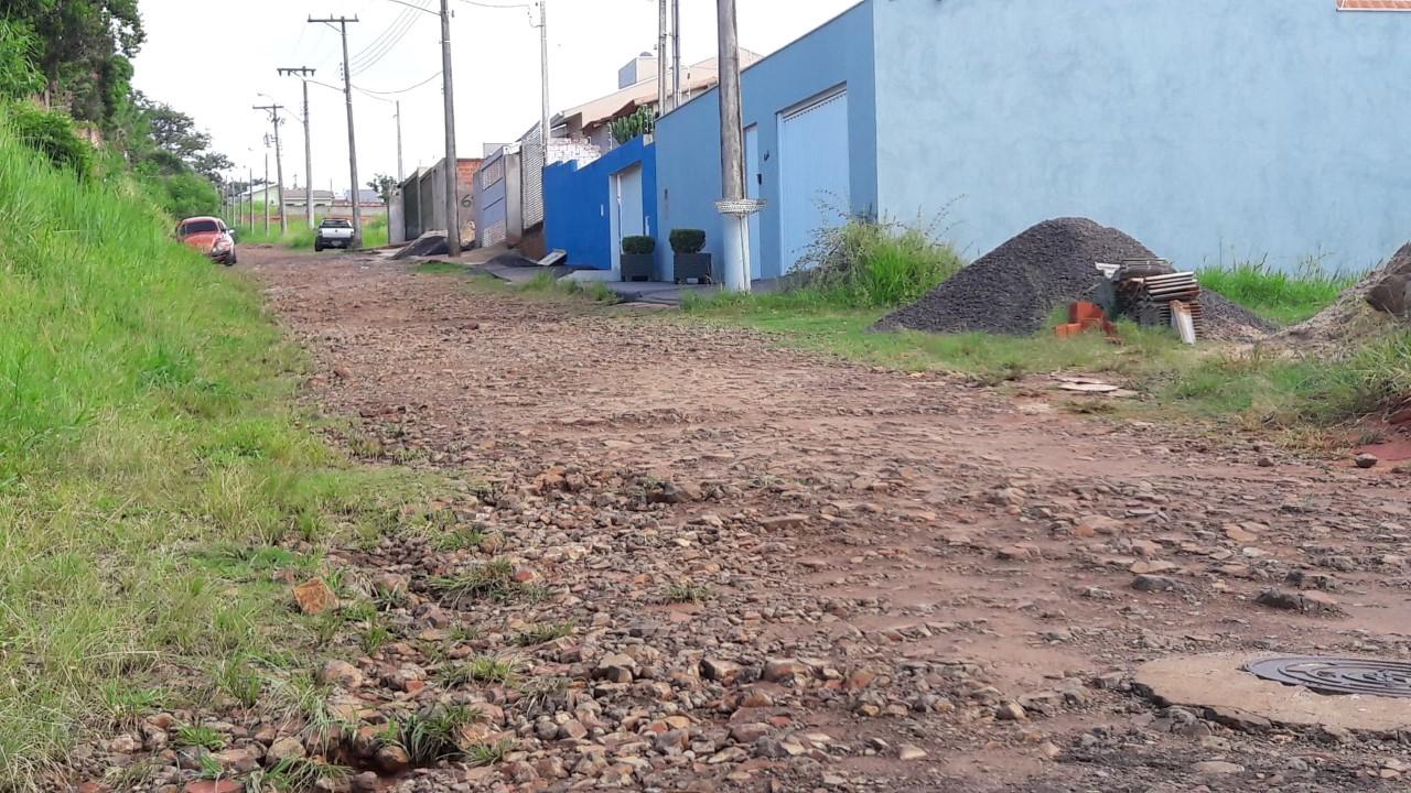 Jacarezinho: Rua Arlindo Bessa deverá ter pavimentação