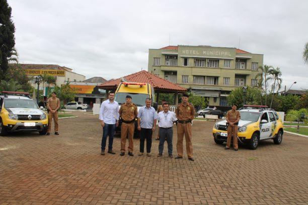 Jacarezinho: Polícia Militar realiza entrega viaturas