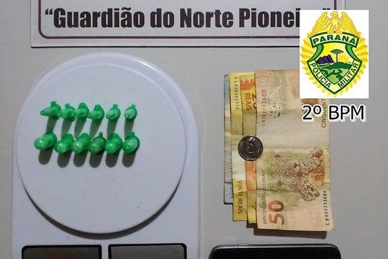 Jacarezinho: Denúncias anônimas levam PM a prender dois traficantes no bairro Scylla Peixoto