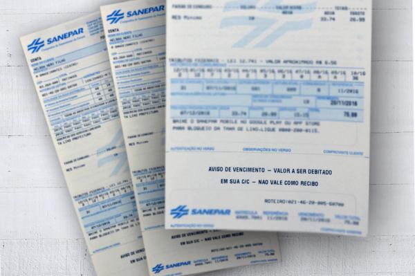 Após medida cautelar do TCE, Sanepar suspende aumento de 12,13% na conta de água