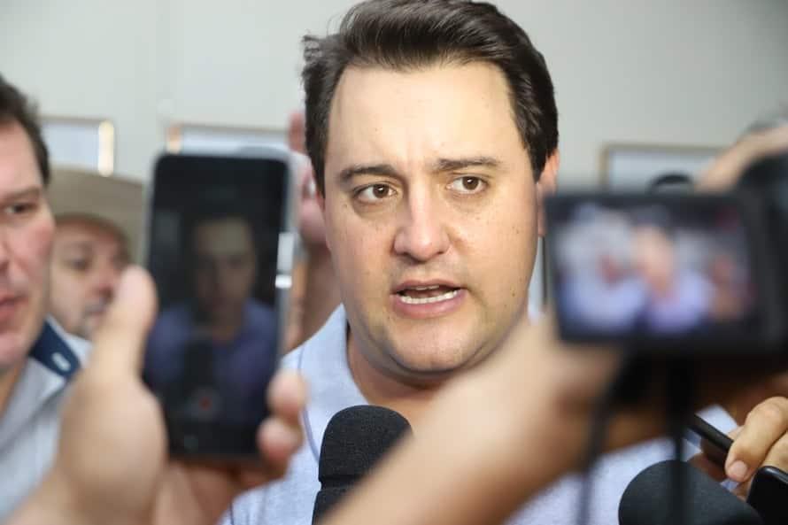 """""""Quem faz greve não vai ter conversa"""", afirma Ratinho Junior"""