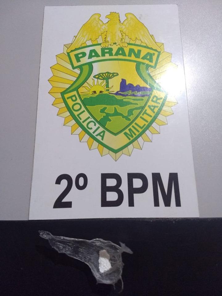 Casal é preso com cocaína em Jacarezinho