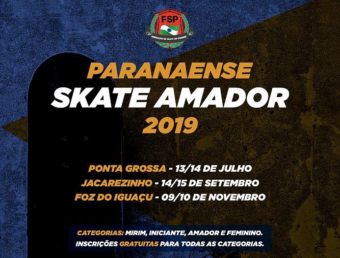 Jacarezinho receberá Campeonato Paranaense de skate