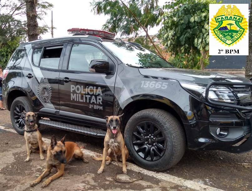2º BPM: Cumpre mandados em Cambará e prende envolvidos com o tráfico de drogas