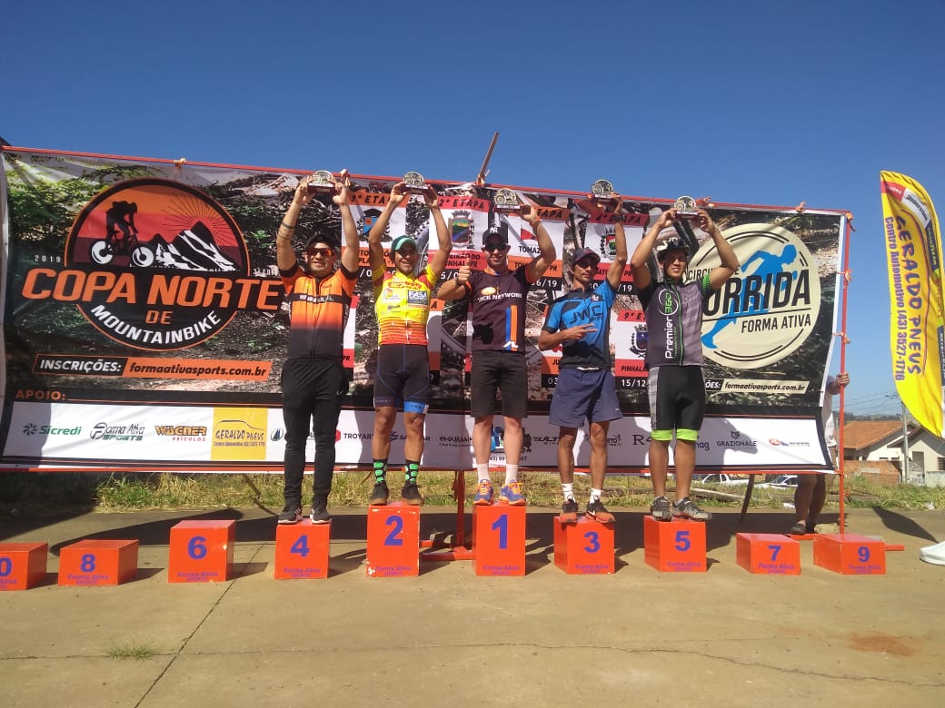 """Jacarezinhense fica em 1º lugar na """"4º Etapa Copa Norte de mountain bike""""."""