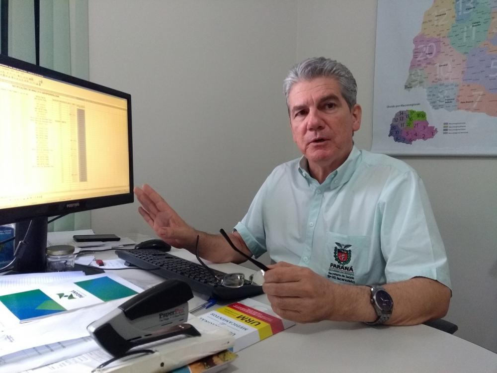 Paciente de Jacarezinho diagnosticado com sarampo contraiu a doença em São Paulo