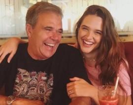 Pai da atriz Juliana Paiva morre vítima de enfarte, aos 64 anos